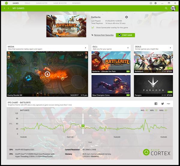 Razer Cortex Game Booster untuk PC Windows