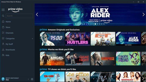Comment installer l'application Amazon Prime Video sur Windows 10