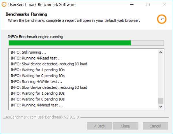 UserBenchmark memungkinkan Anda menguji komponen Perangkat Keras PC Windows Anda