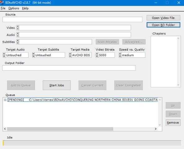 Конвертујте Блу-Раи датотеке у БД5 / БД9 / БД25 / МКВ помоћу БДтоАВЦХД за Виндовс 10