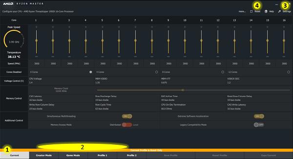 AMD Ryzen Master est un puissant outil d'overclocking pour PC