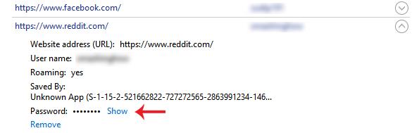 Jak nastavit, aby prohlížeč zobrazoval uložené heslo v textu místo teček