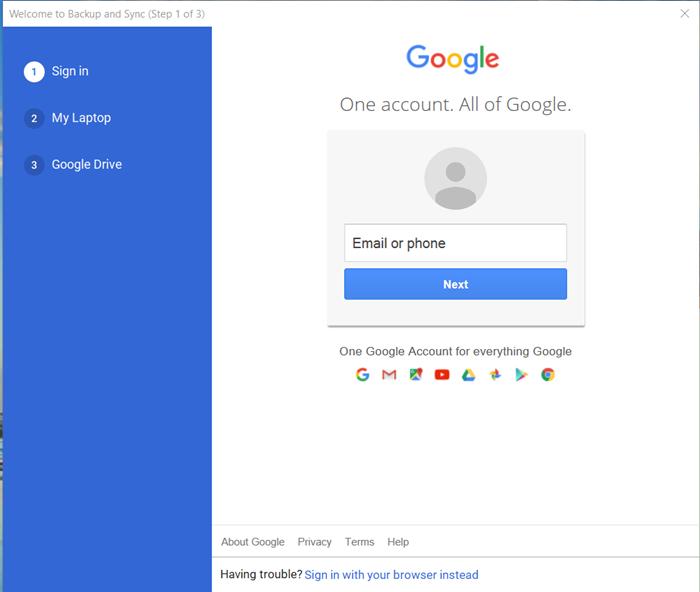 Udržujte Disk Google a Fotky Google v synchronizaci s Nástrojem pro zálohování a synchronizaci Google