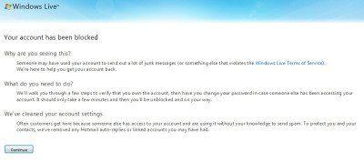 Desbloquear y recuperar una cuenta de Outlook o Microsoft bloqueada o suspendida