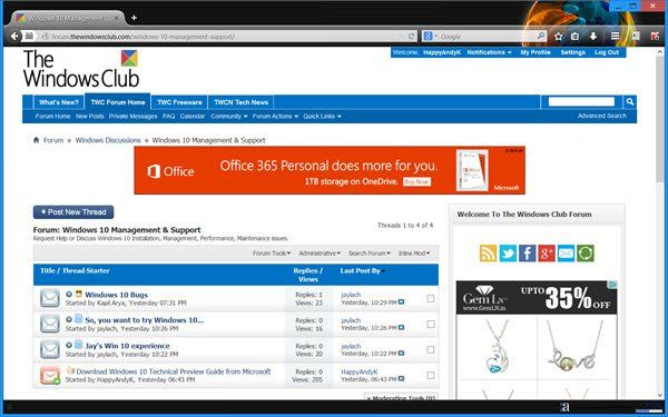 Personnalisez et personnalisez le navigateur Firefox en fonction de votre style
