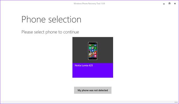 Outil de récupération Windows Phone: réinitialiser et récupérer Windows Phone