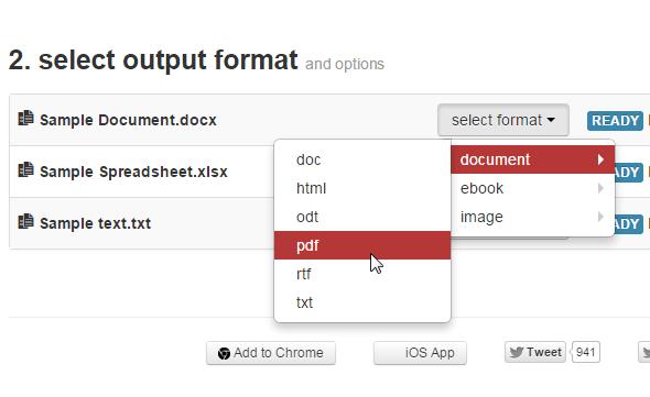 Konvertieren Sie alle Dateien gleichzeitig mit CloudConvert in verschiedene Formate