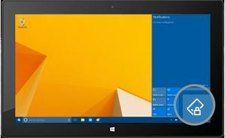 Obrazovka Microsoft Surface se neotáčí