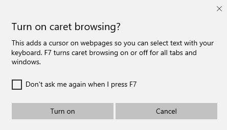 Co je procházení Caret v systému Windows 10? Jak to používáte v Edge?