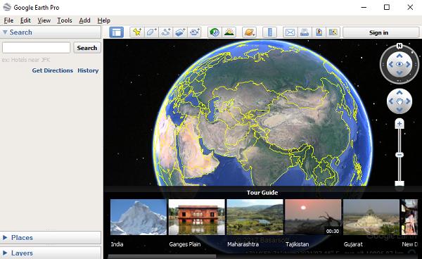 Google Earth ei tööta või külmub Windows 10-s