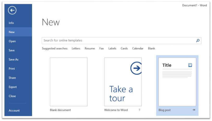 Comment publier un article de blog à l'aide de Microsoft Word