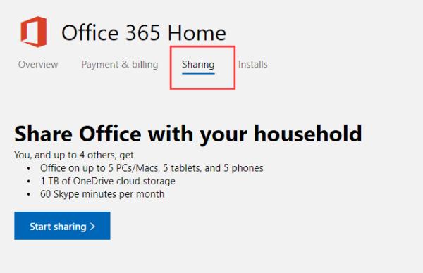 Comment partager votre abonnement Office 365 avec vos amis et votre famille
