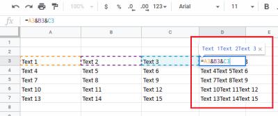 So führen Sie Spalten zusammen, ohne Daten in Excel zu verlieren
