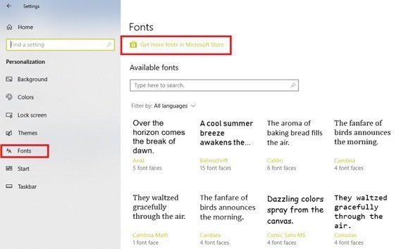 كيفية تثبيت الخطوط الجديدة في Microsoft Office
