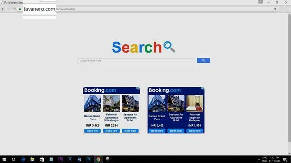 Comment supprimer Tavanero Search de Chrome, Firefox IE sur un PC Windows