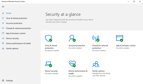 Impossible ou impossible d'activer Windows Defender sur Windows 10