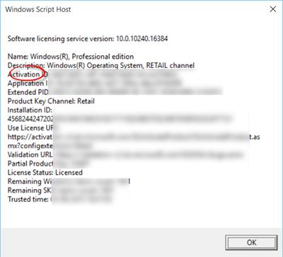 Tidak dapat mengaktifkan Windows 10. Product Key diblokir.