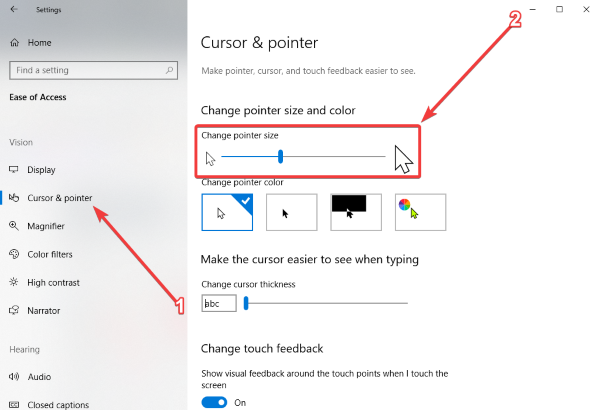 Comment changer le pointeur de la souris et la taille, la couleur et le schéma du curseur sous Windows 10