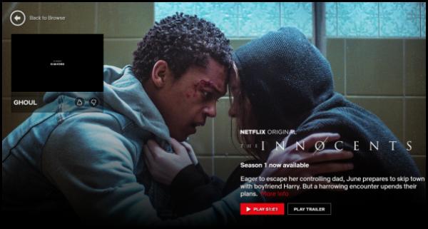 Kuidas peatada Netflixi rakenduse episoodide, haagiste automaatne esitamine Windows 10-s