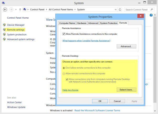 Kako omogućiti i koristiti vezu s udaljenom radnom površinom u sustavu Windows 10