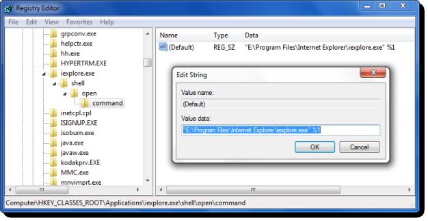 لا يمكن إقران امتداد ملف بتطبيق ما في Windows 7/8/10