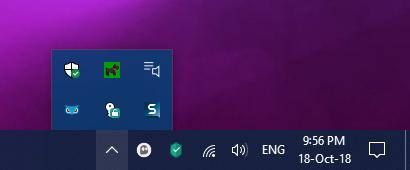 Tegumiriba on Windows 10 töölaualt kadunud
