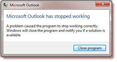 Business Contact Manager ruši Outlook na sustavu Windows 10
