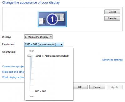 Ajustez votre moniteur pour une meilleure résolution d'écran dans Windows 10