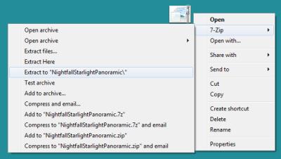 Verwendung von Windows 10-Designs und Themenpaketen unter Windows 7