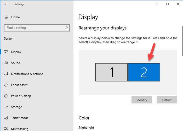 Windows 10-s mitme kuvari erineva kuvaskaala määramine