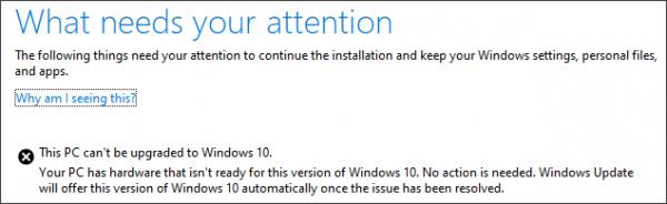 Tätä tietokonetta ei voi päivittää Windows 10: ksi? Tässä on kiertotapa!
