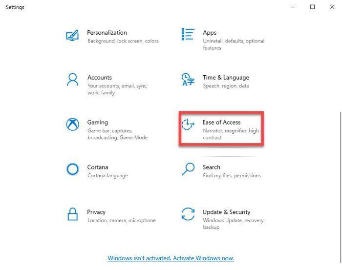 Sådan aktiveres og bruges farvefiltre til Colorblind-brugere i Windows 10