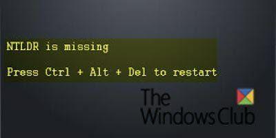 Fix NTLDR est manquant, appuyez sur Ctrl-Alt-Suppr pour redémarrer l'erreur dans Windows 10
