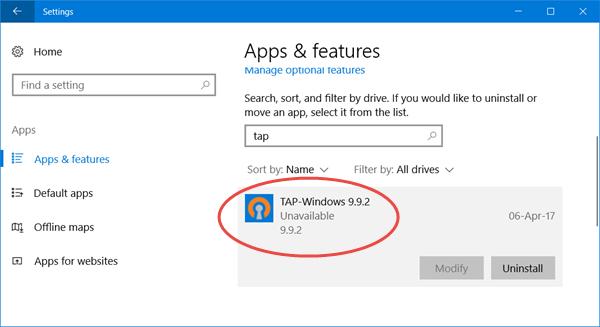Que sont les adaptateurs TAP-Windows et pourquoi votre VPN nécessite-t-il ce pilote