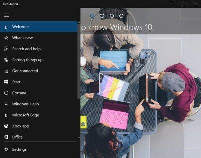 Lancez l'application de Windows 10 - Guide du débutant pour apprendre Windows 10