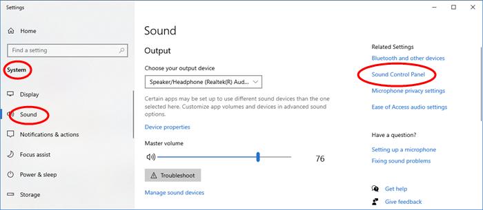 Cómo deshabilitar o cambiar sonidos en Windows 10